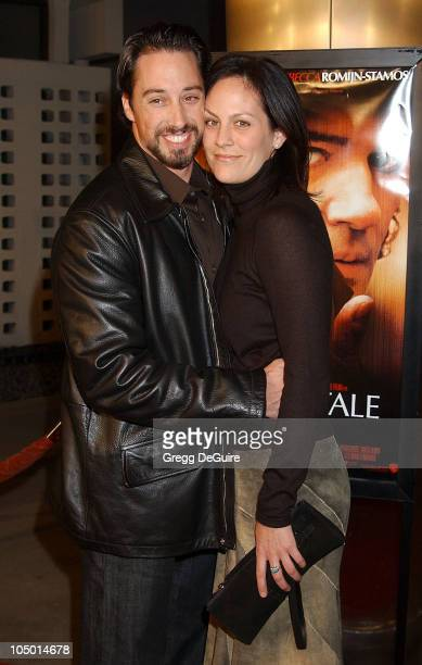 Wade Allen and Annabeth Gish during Femme Fatale Los Angeles Premiere at Cinerama Dome in Hollywood California United States