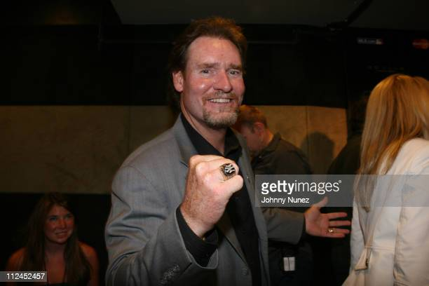 Wade Boggs attends the '33 Club party' presented by MLBcom at the Roseland Ballroom on July 13 2008 in New York City