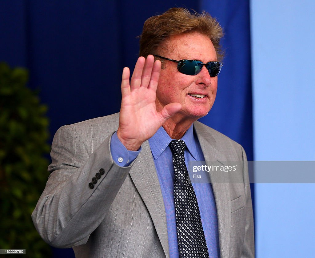 Wade Boggs attends the Hall of Fame Induction Ceremony at National Baseball Hall of Fame on July 26, 2015 in Cooperstown, New York. Craig Biggio,Pedro Martinez,Randy Johnson and John Smoltz were inducted in this year's class.
