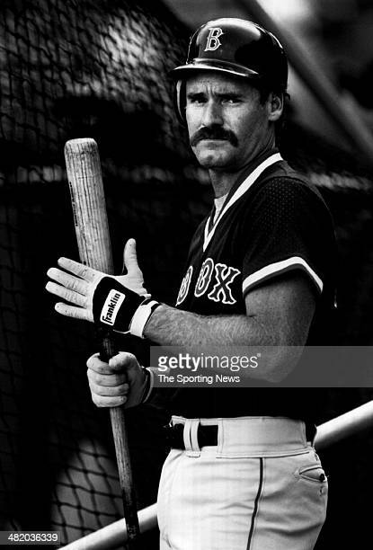 Wade Boggs of the Boston Red Sox looks on circa 1980s