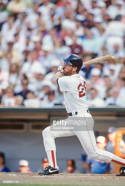 Wade Boggs of the Boston Red Sox plays in a Major League Baseball game against the Oakland A's in July 1989 at the OaklandAlameda County Coliseum in...