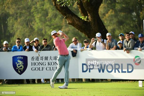 Wade Ormsby of Australia pictured during final round of the UBS Hong Kong Open at The Hong Kong Golf Club on November 26 2017 in Hong Kong Hong KongÊ