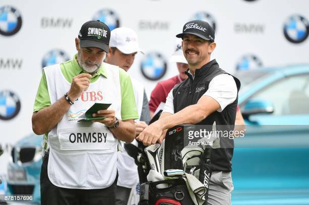 Wade Ormsby of Australia pictured during round two of the UBS Hong Kong Open at The Hong Kong Golf Club on November 24 2017 in Hong Kong Hong KongÊ