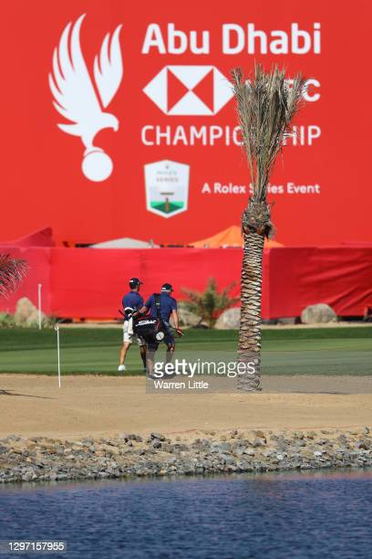 Wade Ormsby of Australia walks on the course during practice ahead of the Abu Dhabi HSBC Championship at Abu Dhabi Golf Club on January 19, 2021 in...