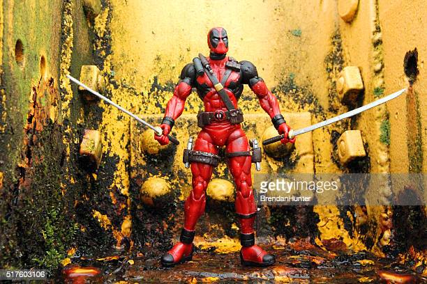 wade - marvel comics stock pictures, royalty-free photos & images