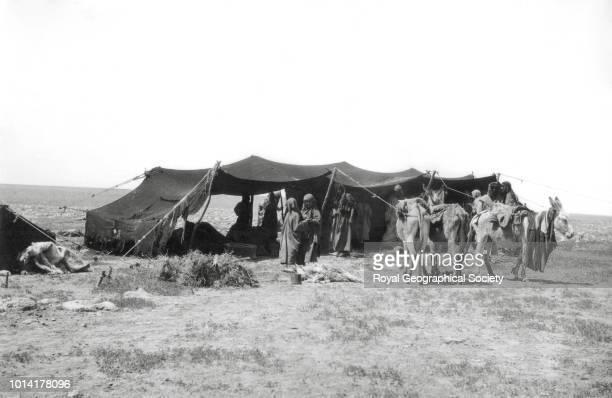 Wadi al Jiffeh Slubba camp Saudi Arabia 1913
