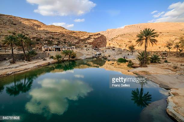 Wadi Bani Khalid, oasis in the desert