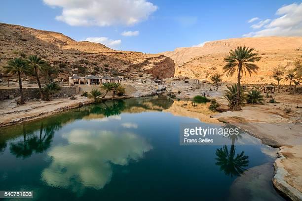 Wadi Bani Khalid, oasis in the desert
