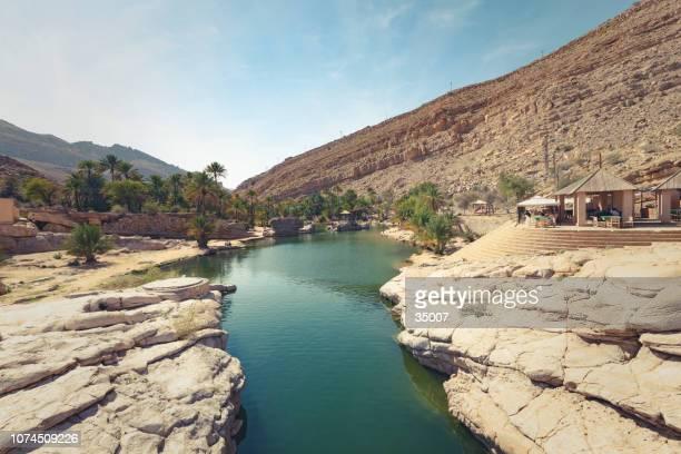 wadi bani khalid oasis, oman