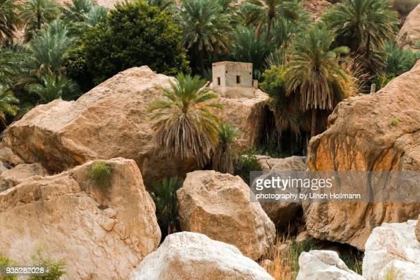 wadi tiwi, oman - flussbett stock-fotos und bilder