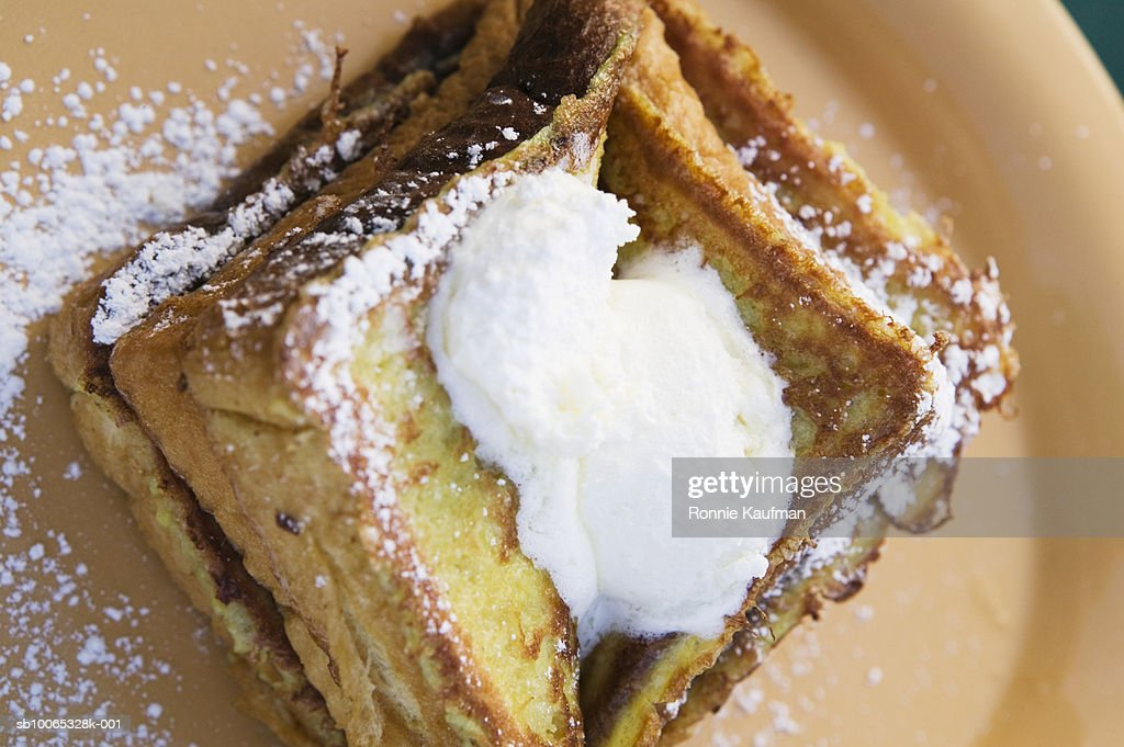 Waffle, close-up : Foto stock