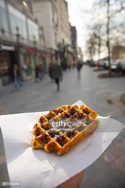 Waffle in Brussels