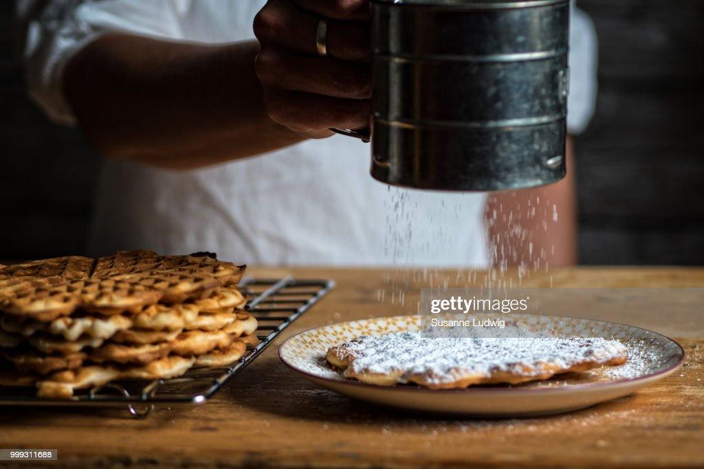 waffles : Stock Photo