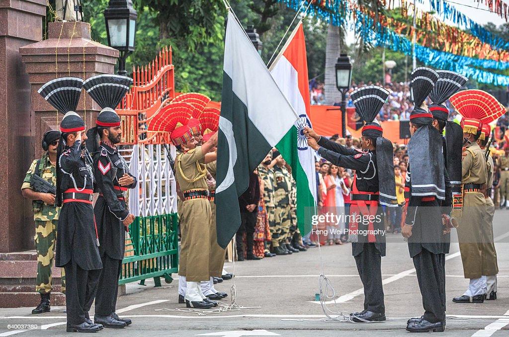 Wagah Border Ceremony, Punjab, Pakistan, August 2015