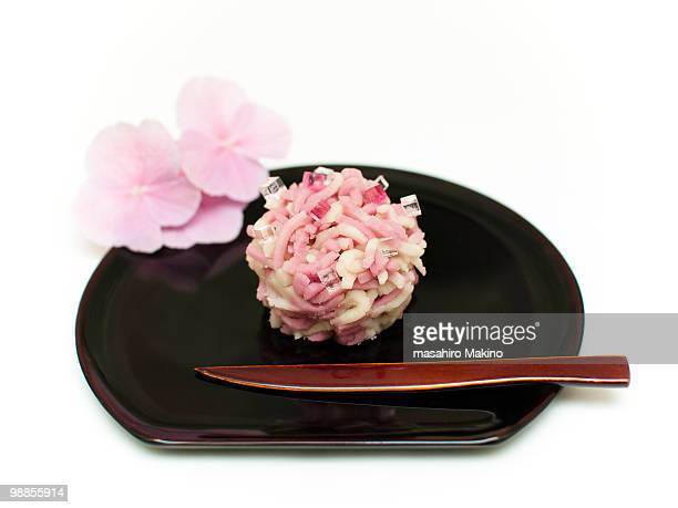 wagashi 'Ajisai (hydrangea)'