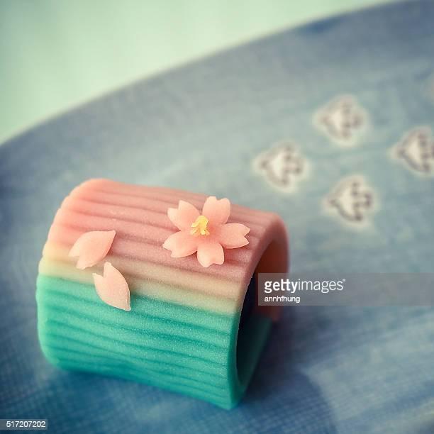 wagashi (japanese sweets) - 和菓子 ストックフォトと画像