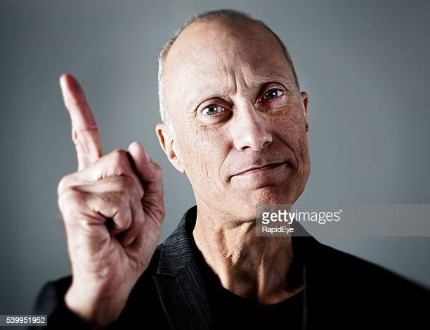 wagging finger, serious mature man, ticking off, remonstrating, boss, manager, - aiming stock pictures, royalty-free photos & images