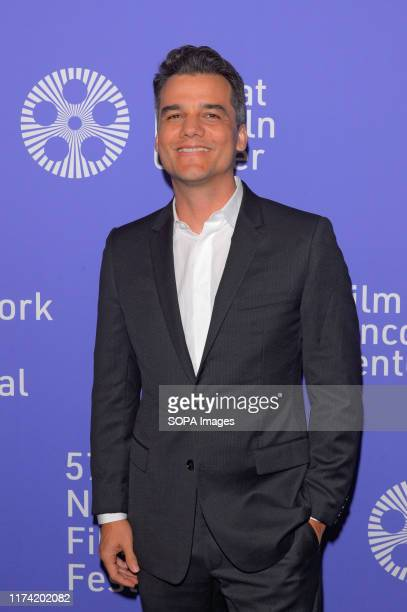 Wagner Moura attends the 57th New York Film Festival Wasp Network arrivals at Alice Tully Hall Lincoln Center in New York City