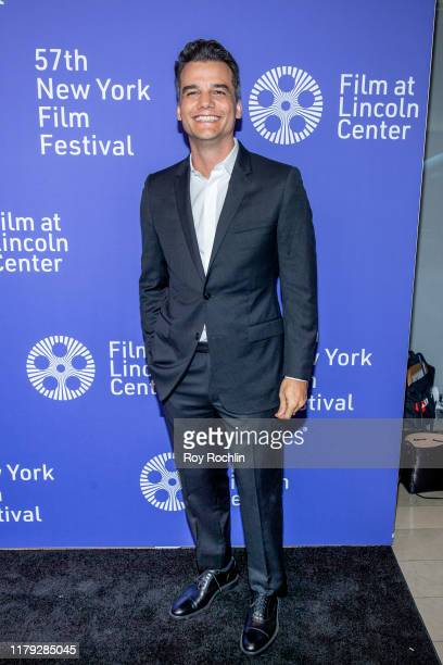 Wagner Moura attends Wasp Network arrivals during the 57th New York Film Festival at Alice Tully Hall Lincoln Center on October 05 2019 in New York...