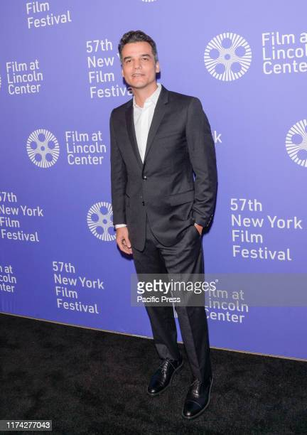 Wagner Moura attends Wasp Network premiere during 57th New York Film Festival at Lincoln Center Alice Tully Hall