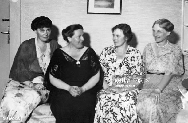 Wagner Winifred *23061897 Director of the Bayreuth Festival untill 1944 Great Britain Daughterinlaw of Richard Wagner from the left Crown Princess...