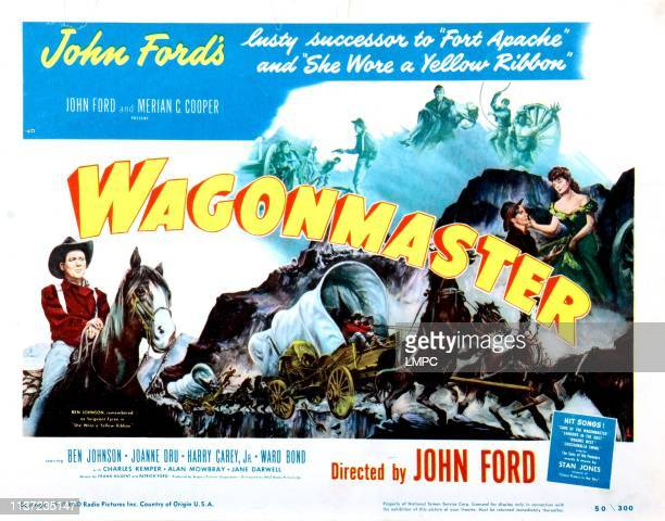 Wagon Master poster Ben Johnson Joanne Dru 1950