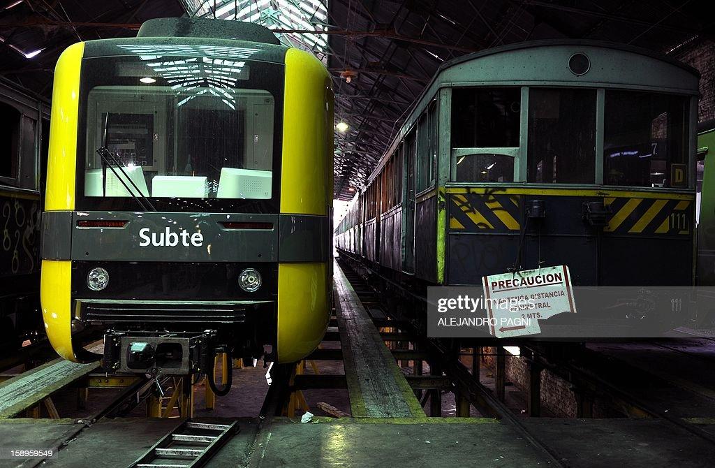 ARGENTINA-CULTURE-HERITAGE-SUBWAY-UNDERGROUND : News Photo