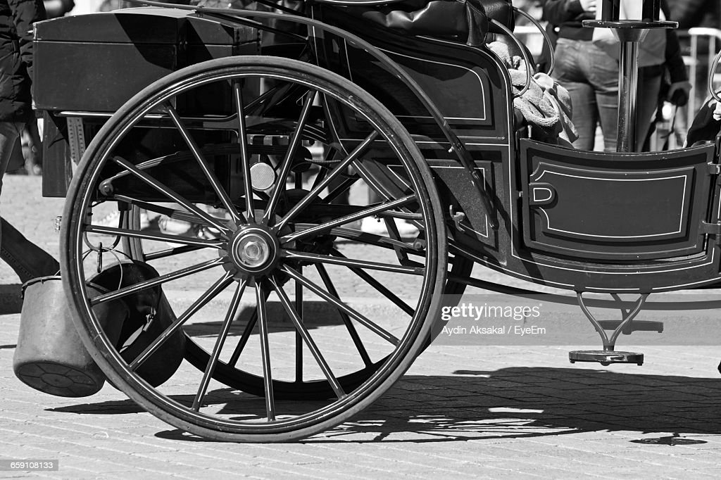 Wagon On Street : Stock Photo