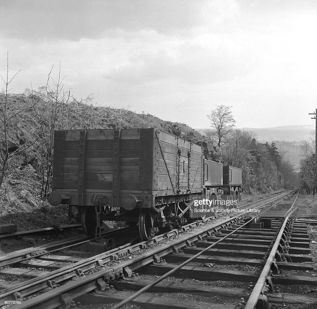 Wagons on Sheep Pasture Incline, on the Cromford & High Peak Railway,... News Photo | Getty Images