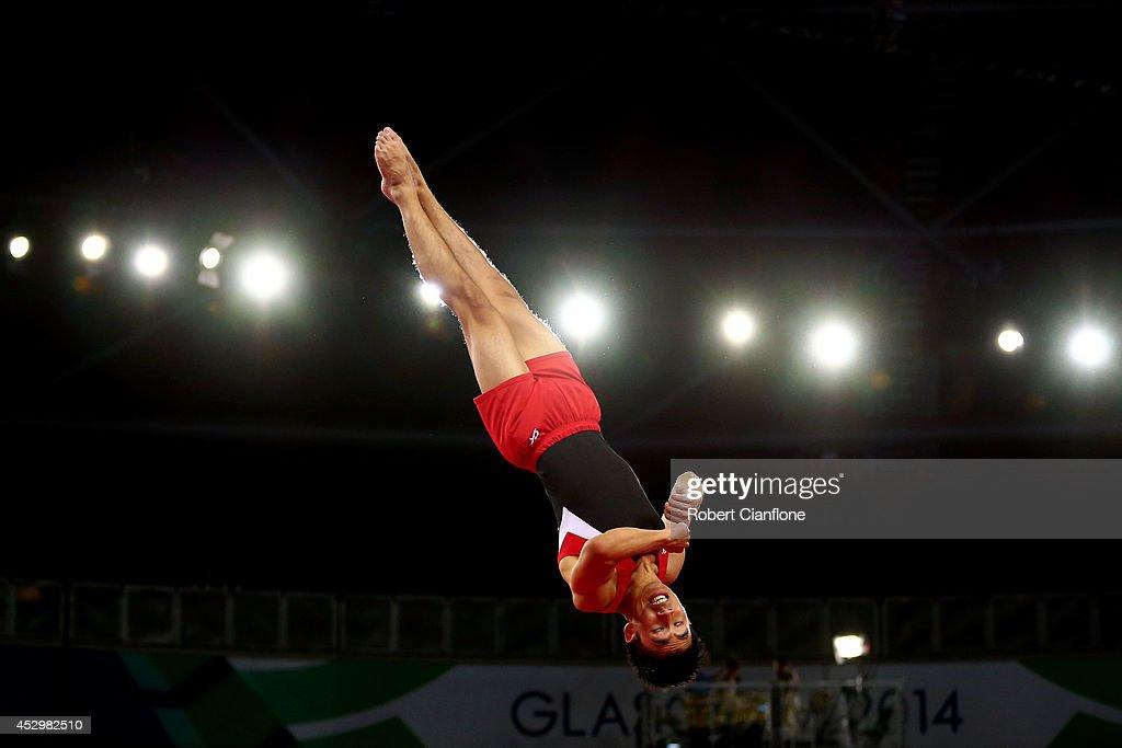 20th Commonwealth Games - Day 8: Artistic Gymnastics : News Photo