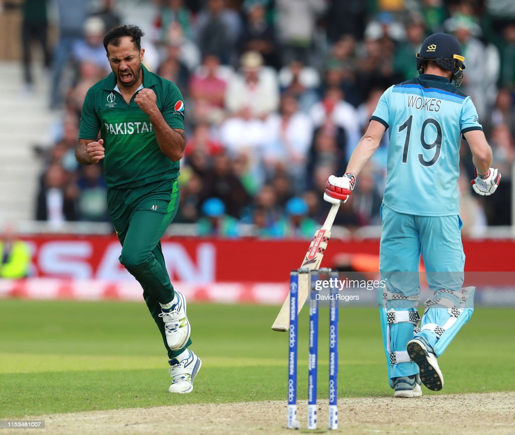 England v Pakistan - ICC Cricket World Cup 2019 : News Photo