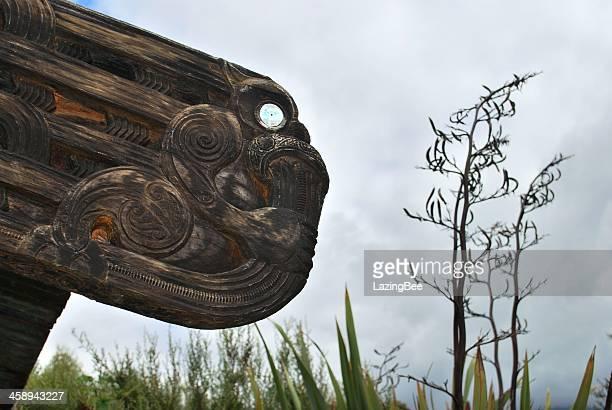 'Wahanui - Gateway' Sculpture by Hohepa Barrett and Ropata Nelson