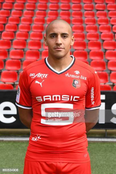 Wahbi Khazri during photoshooting of Stade Rennais for new season 2017/2018 on September 19 2017 in Rennes France