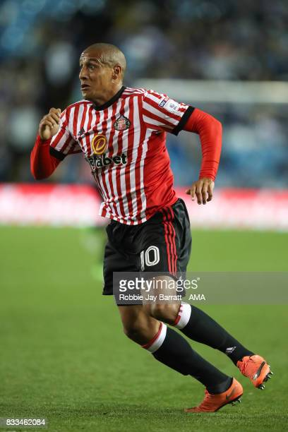 Wahbi Khazri of Sunderland during the Sky Bet Championship match between Sheffield Wednesday and Sunderland at Hillsborough on August 16 2017 in...