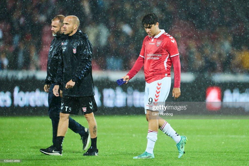 FC Midtjylland vs Vejle Boldklub - Danish 3F Superliga : News Photo
