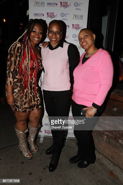 Wahida Clark and Sunshine SmithWilliams attends The Pink Panther Clique book release party hosted by Yandy Smith at Manhattan Brew Vine on October 3...