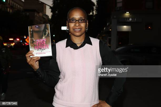 Wahida Clark attends The Pink Panther Clique book release party hosted by Yandy Smith at Manhattan Brew Vine on October 3 2017 in New York City
