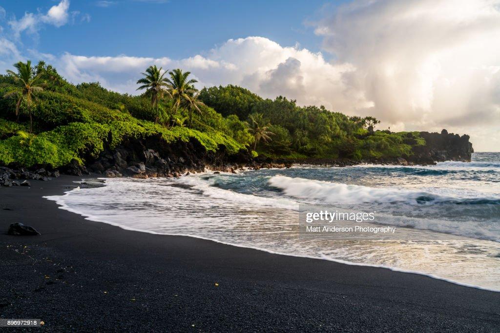 Waianapanapa Beach #2 : Stock Photo