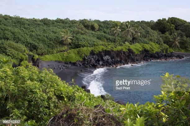 Waianapanapa State Park in Maui Hawaii