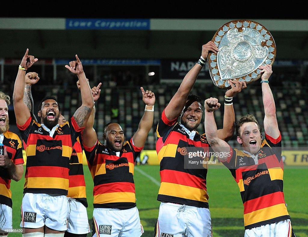 ITM Cup Rd 9 -  Hawke's Bay v Waikato : News Photo