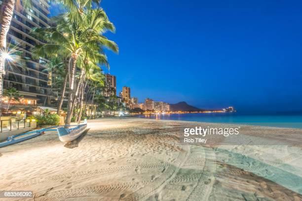 Waikiki Beach Dawn