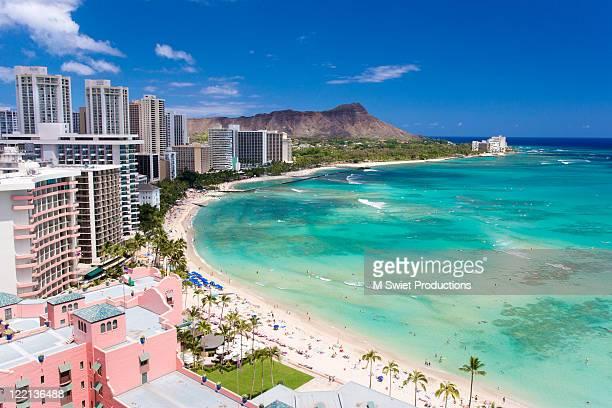 Waikiki beach, Hawaiii