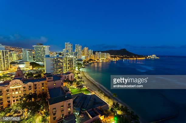 Waikiki Beach skyline