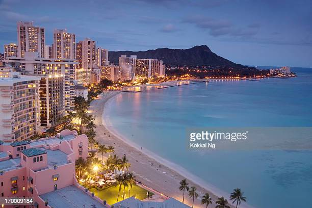 waikiki - waikiki stock pictures, royalty-free photos & images