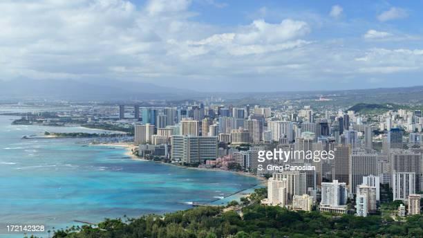 Waikiki  skyline