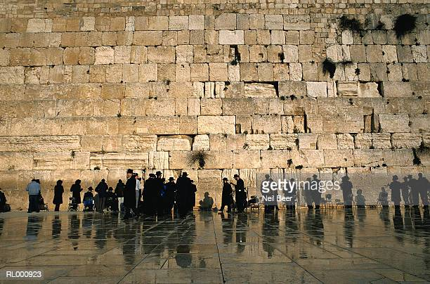 wailing wall - jerusalem stock pictures, royalty-free photos & images
