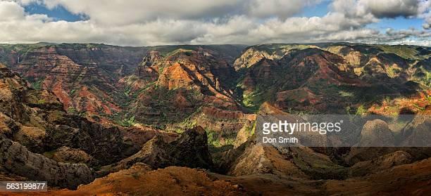 waimea canyon - waimea canyon stock pictures, royalty-free photos & images