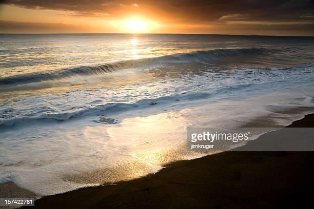 Waimea sunset, islands of Hawaii.