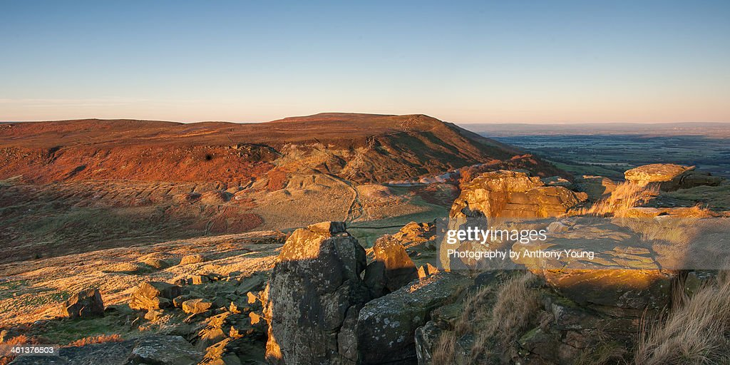 Wainstones Sunrise : Stock Photo