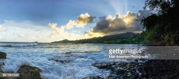 Waipauma Point Coastline Sunset #2